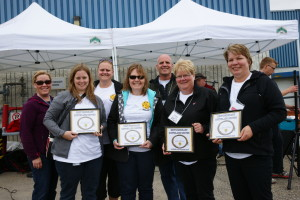 Calgary Board of Education team walked away with the Best Honorary Southland Driver award